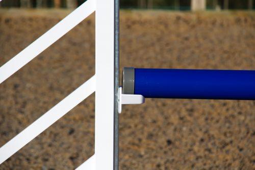 Blue & White Plastic Show Jump Poles