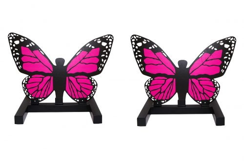 Pink Butterfly Show Jump Fillers