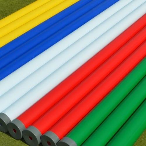 Plastic Show Jump Poles - Single Colour