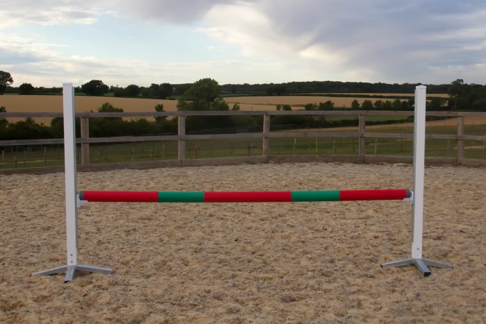 Red & Green Plastic Show Jump Poles
