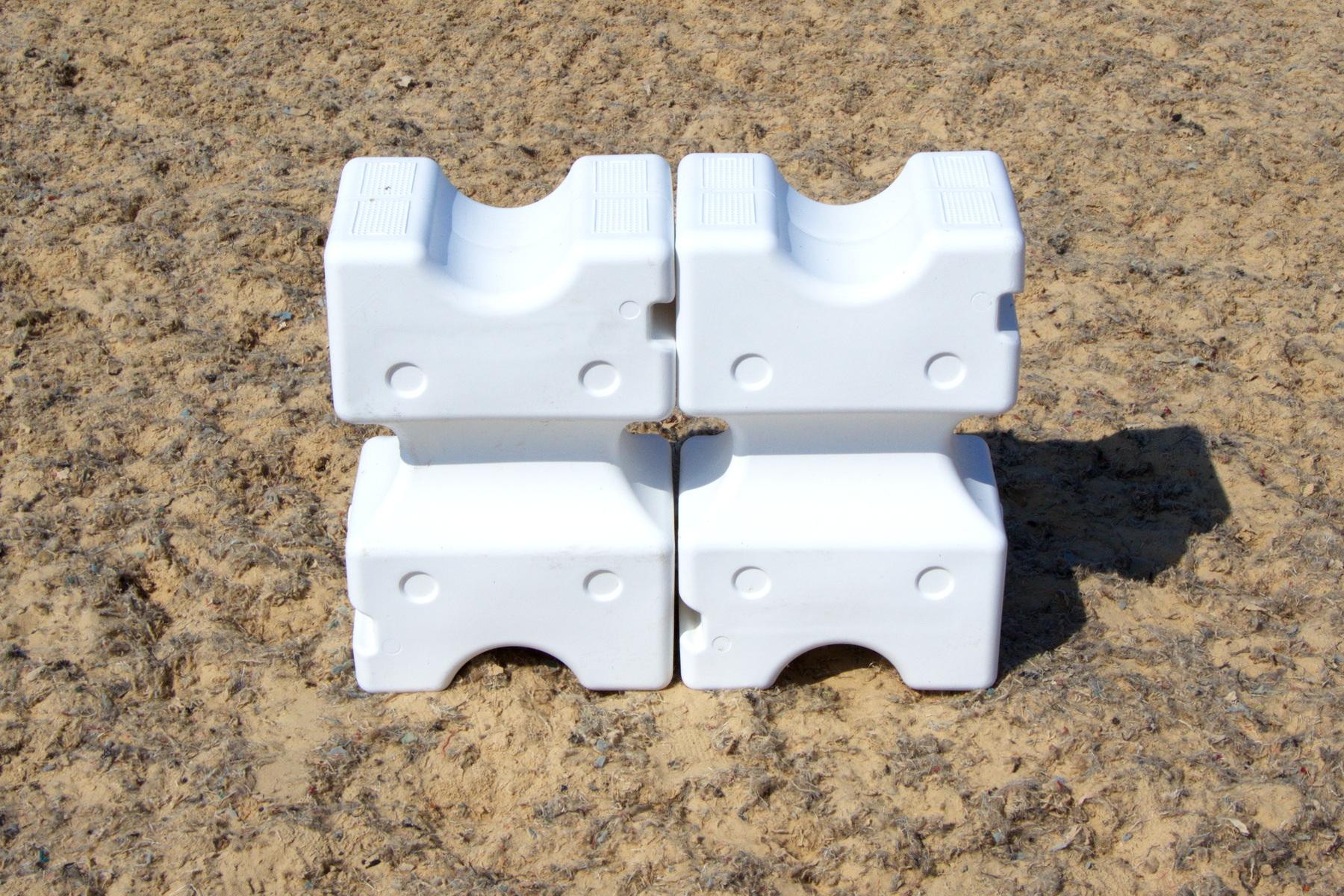 Standing Cavaletti Blocks