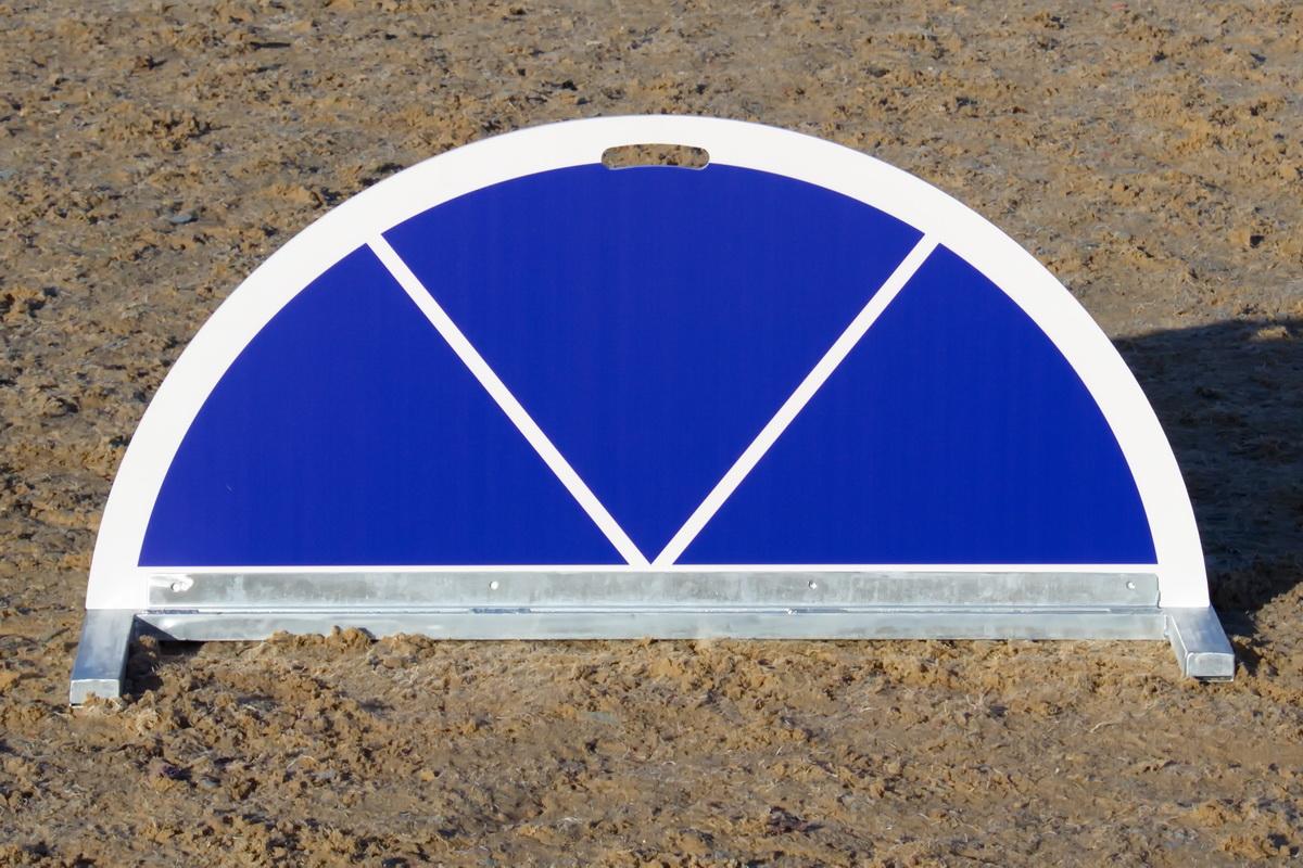 Blue Show Jump Filler