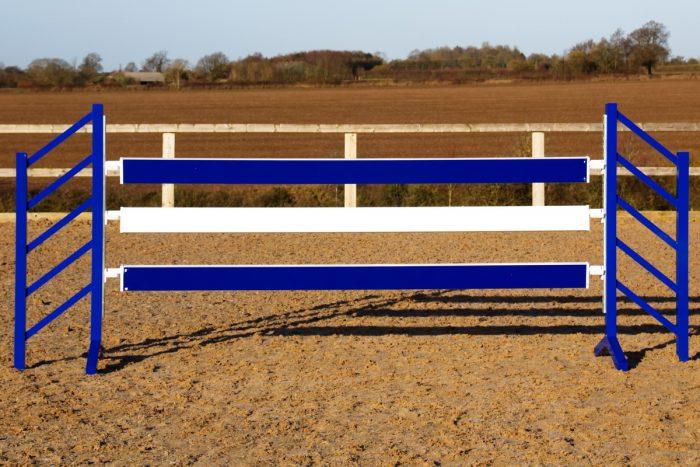 Blue show jump Planks