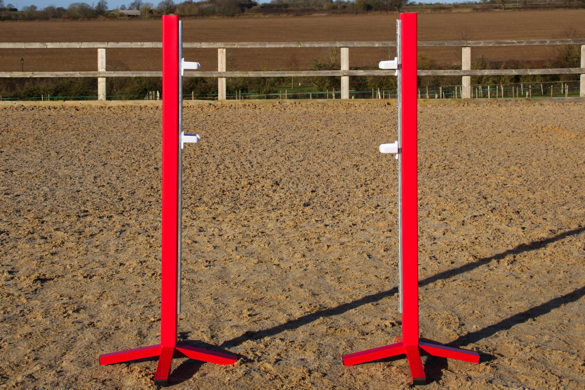 Red Jump Stands
