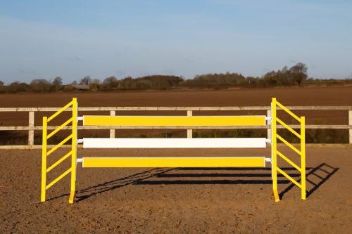 Yellow show jump Planks