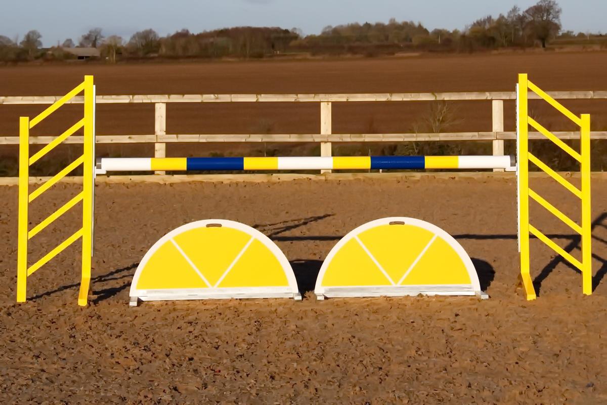 Yellow Show Jump Filler